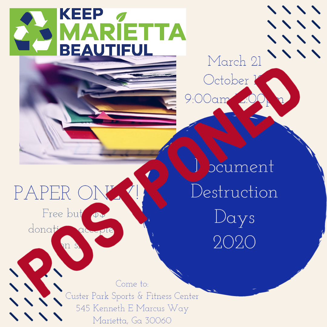 Document Destruction Days 2020 POSTPONED