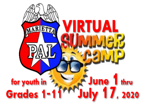 Virtual Summer Camp Logo