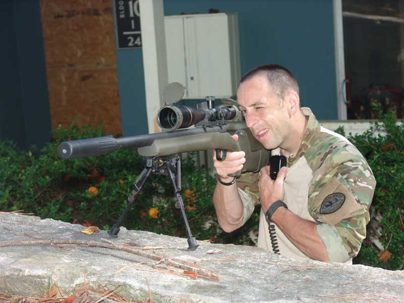 Marietta PD Snipers - Officer Brian Wallace