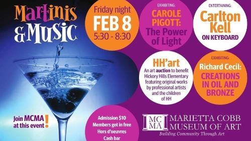 Martinis and music